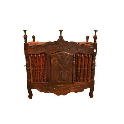 Provençal Hanging Bread Basket From The 1800s