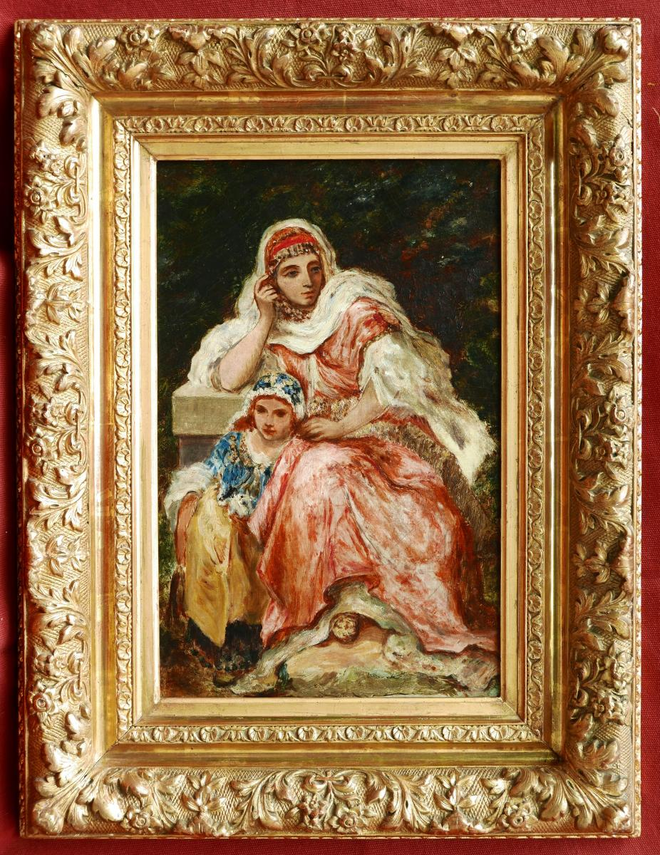 Attributed To Narcisse Diaz De La PeÑa, Woman Of Orient