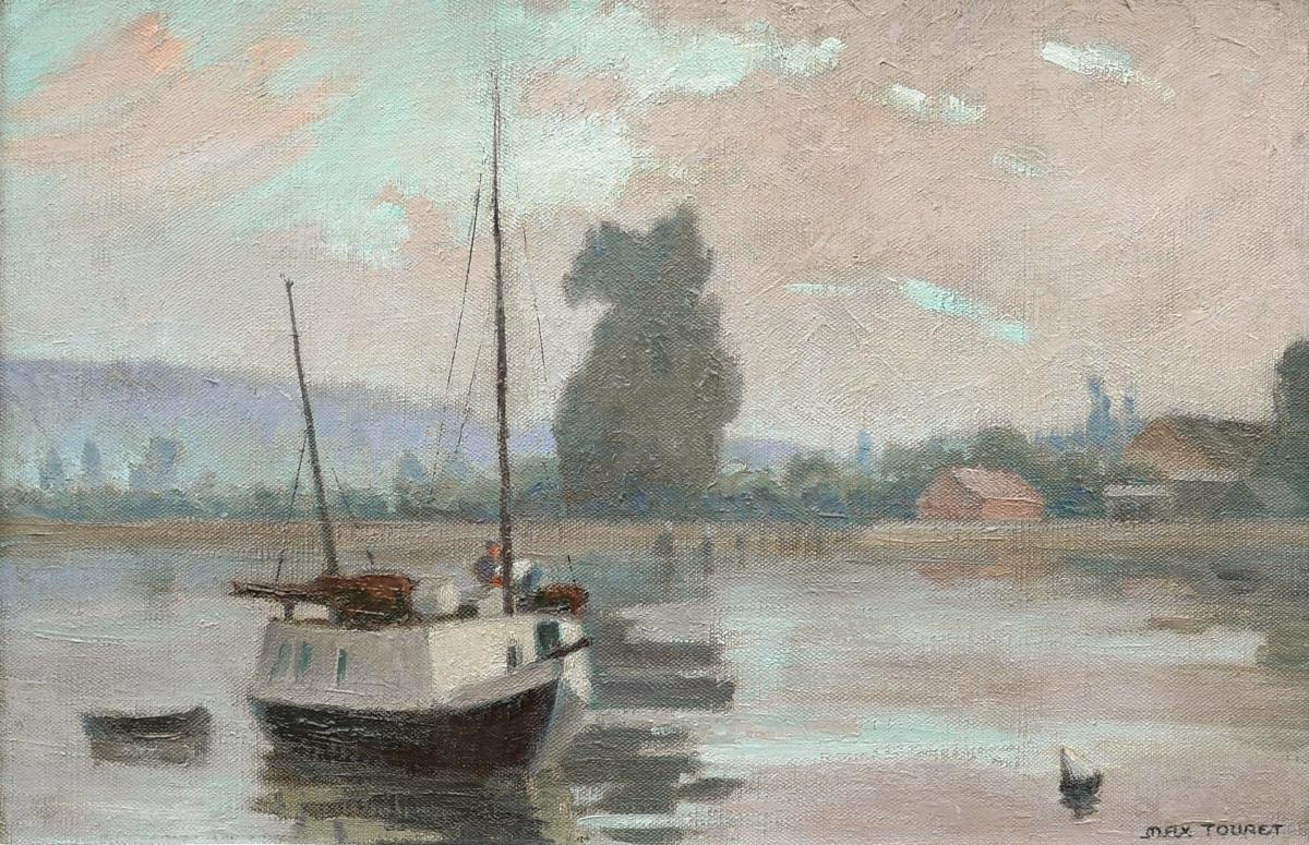 Max TOURET, Bords de Loire