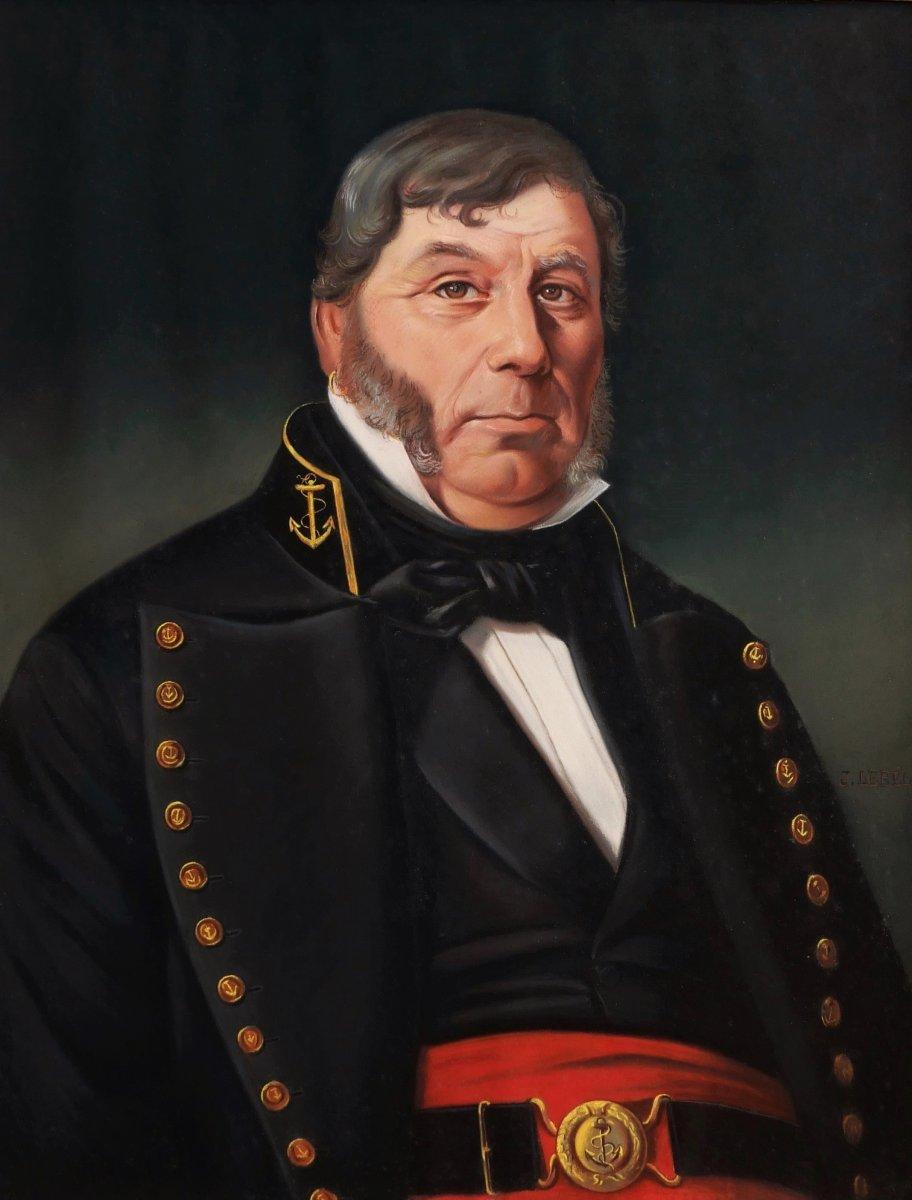 J. LEBEL, Portrait de marin