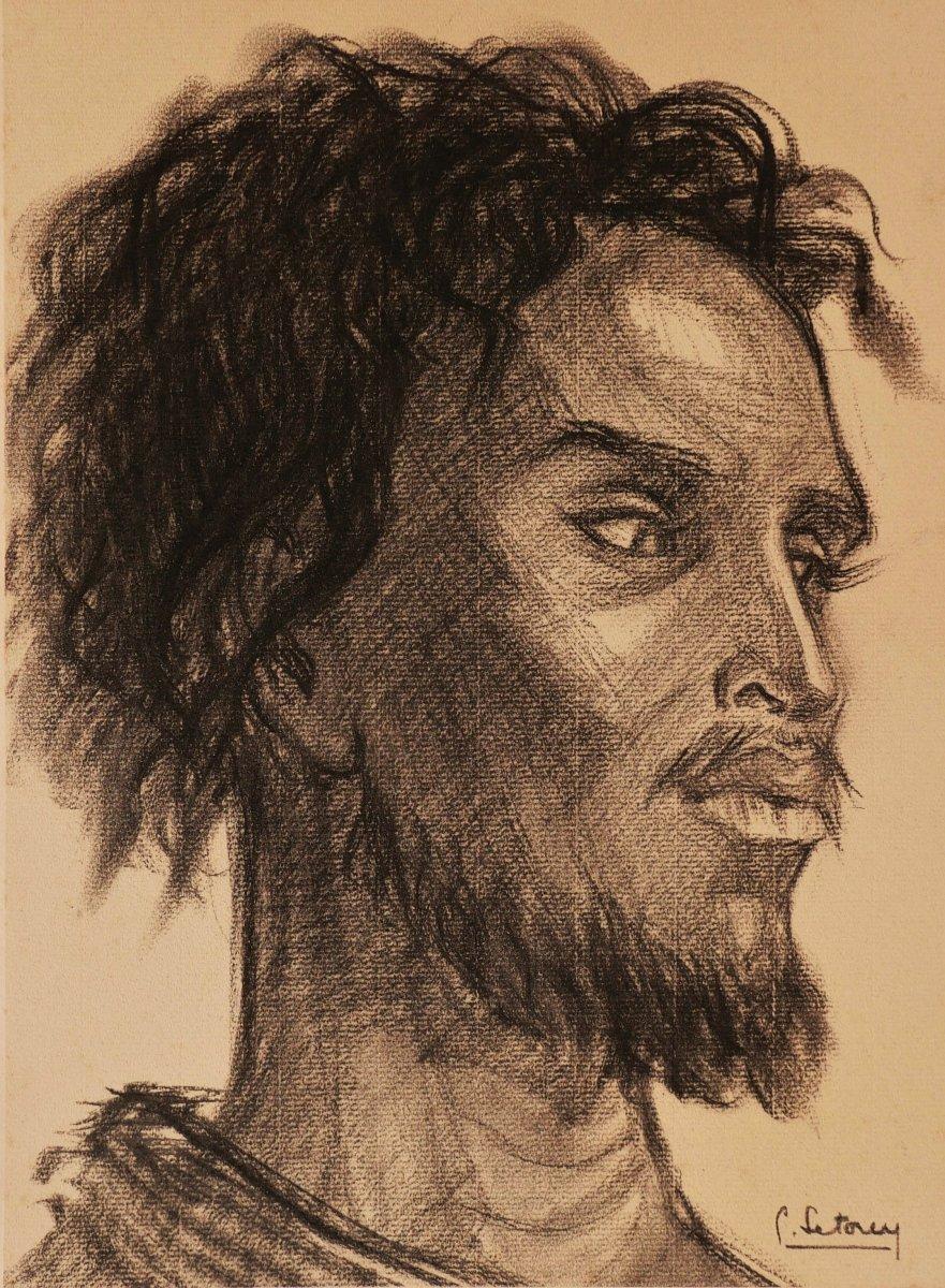 Suzanne LÉTOREY-DUMOND, Portrait d'homme somali
