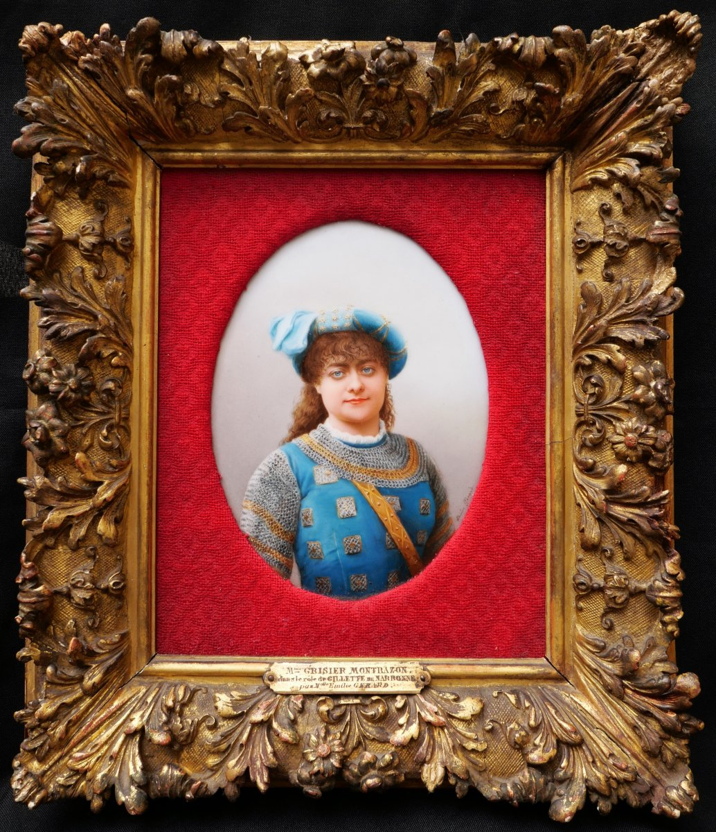 Émilie GÉRARD, Portrait de Marie GRISIER-MONTBAZON en Gillette de Narbonne