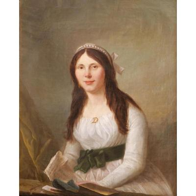 Jacques WILBAULT, Portrait d'une jeune aristocrate