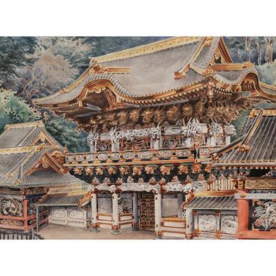 École EUROPÉENNE début XXème siècle, Le Yomeimon du Temple de Nikkō Tōshō-gū