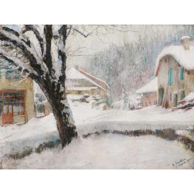Marthe Pasteur, Snow In Saint Cergue, Switzerland