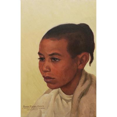 Yvonne KLEISS-HERZIG, Portrait d'un enfant d'Algérie