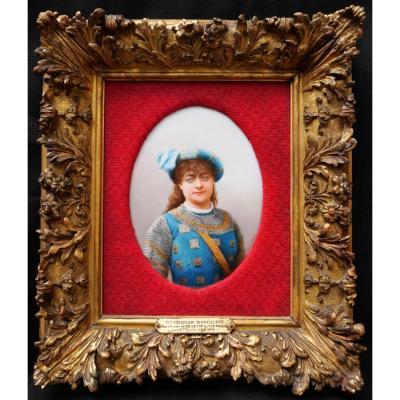Émilie GÉrard, Portrait Of Marie Grisier-montbazon In Gillette De Narbonne