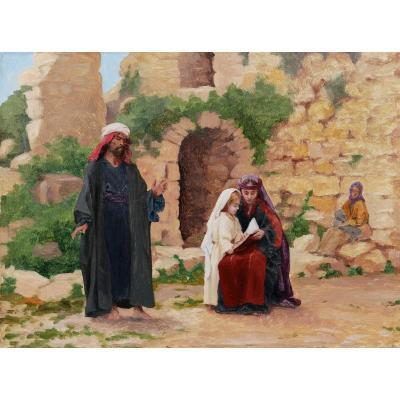 Attribué à Joseph-Jean-Félix AUBERT, La Vie de Marie