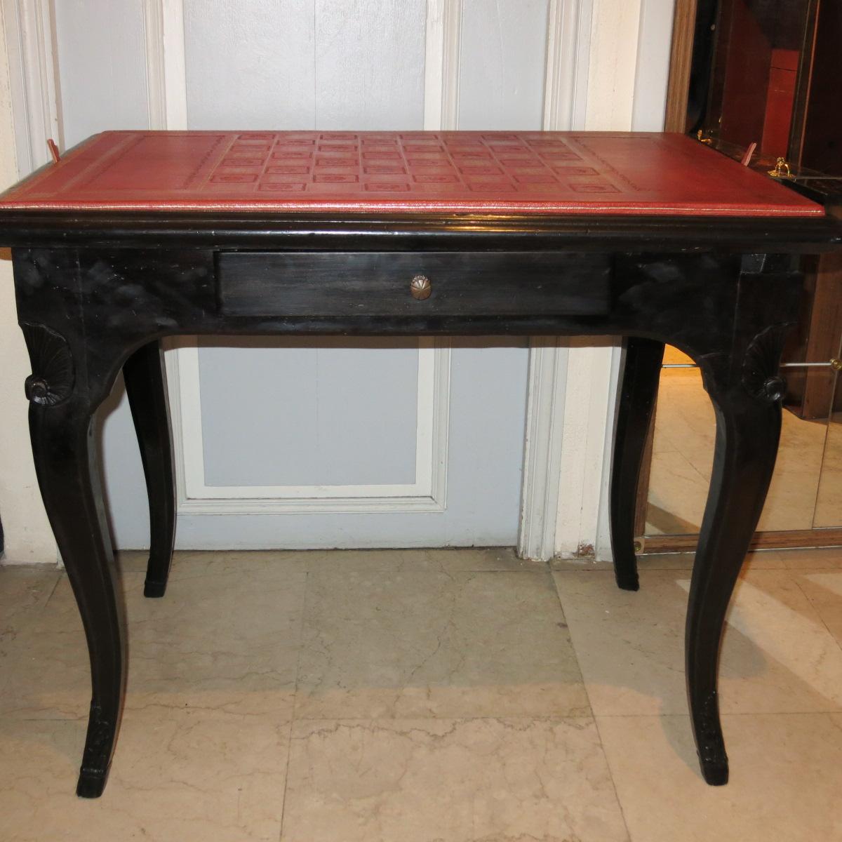 Table à Jeux époque Régence-photo-4
