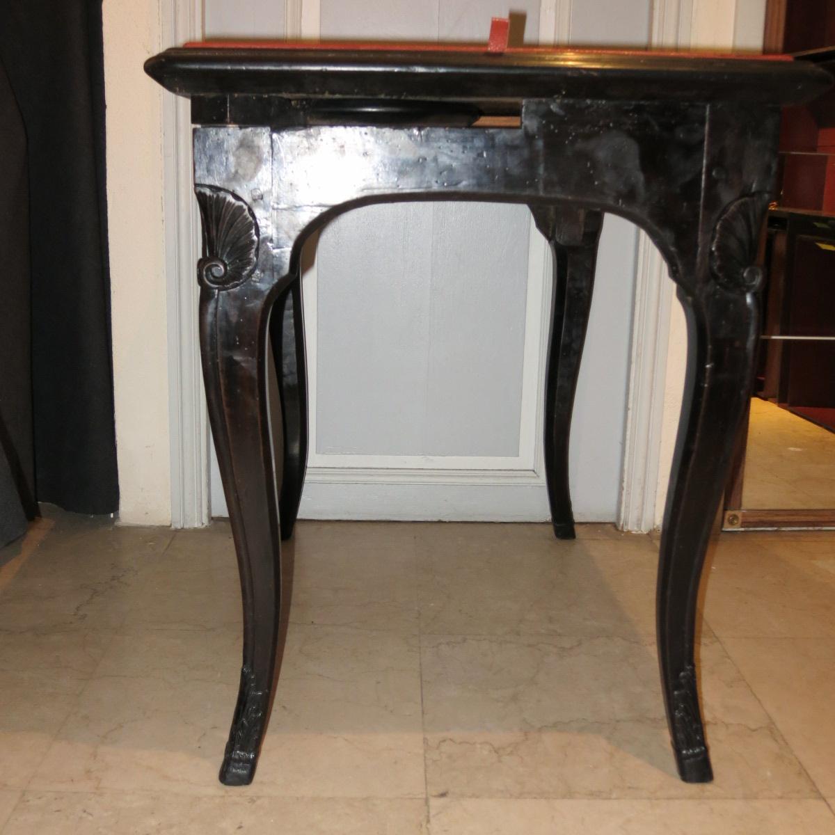 Table à Jeux époque Régence-photo-7
