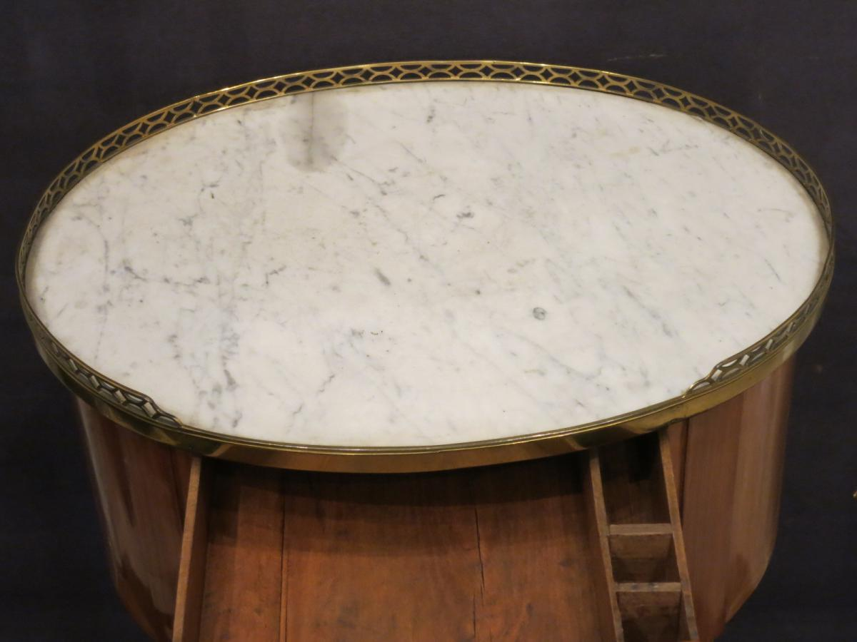 Coffee Table Louis XVI Signed Cosson-photo-6