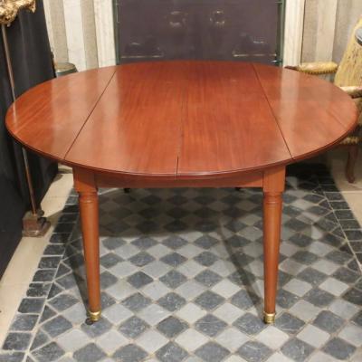 Table De Salle à Manger En Acajou époque Louis XVI