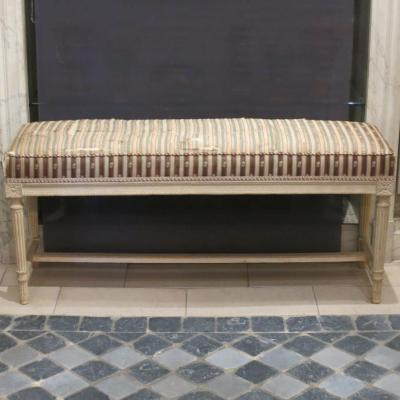 Bench Lacquered Wood Louis XVI Period