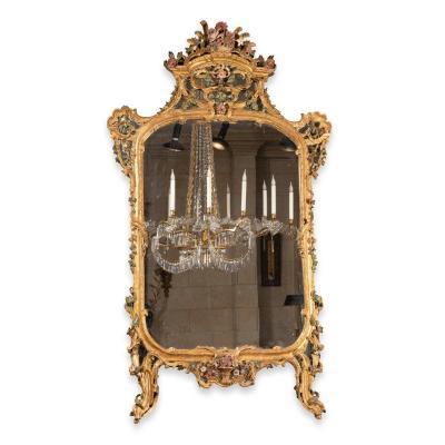 Miroir milieu XVIII ème siècle