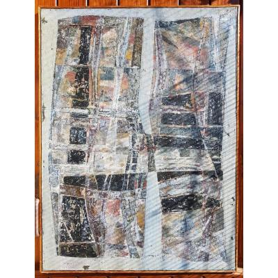 Huile Sur Toile Olivier Charles