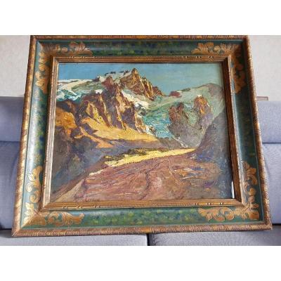Tableau montagne Joseph-Victor Communal