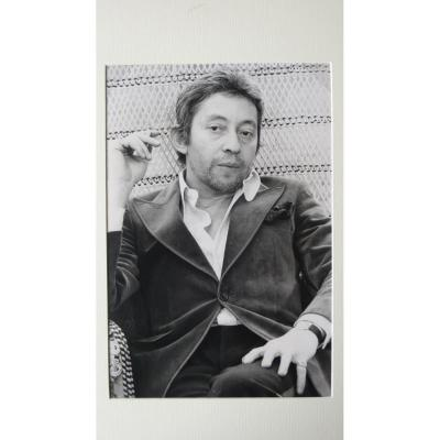 Photo portait de Serge Gainsbourg