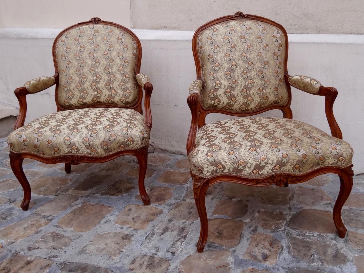 fauteuils louis xv fauteuils. Black Bedroom Furniture Sets. Home Design Ideas