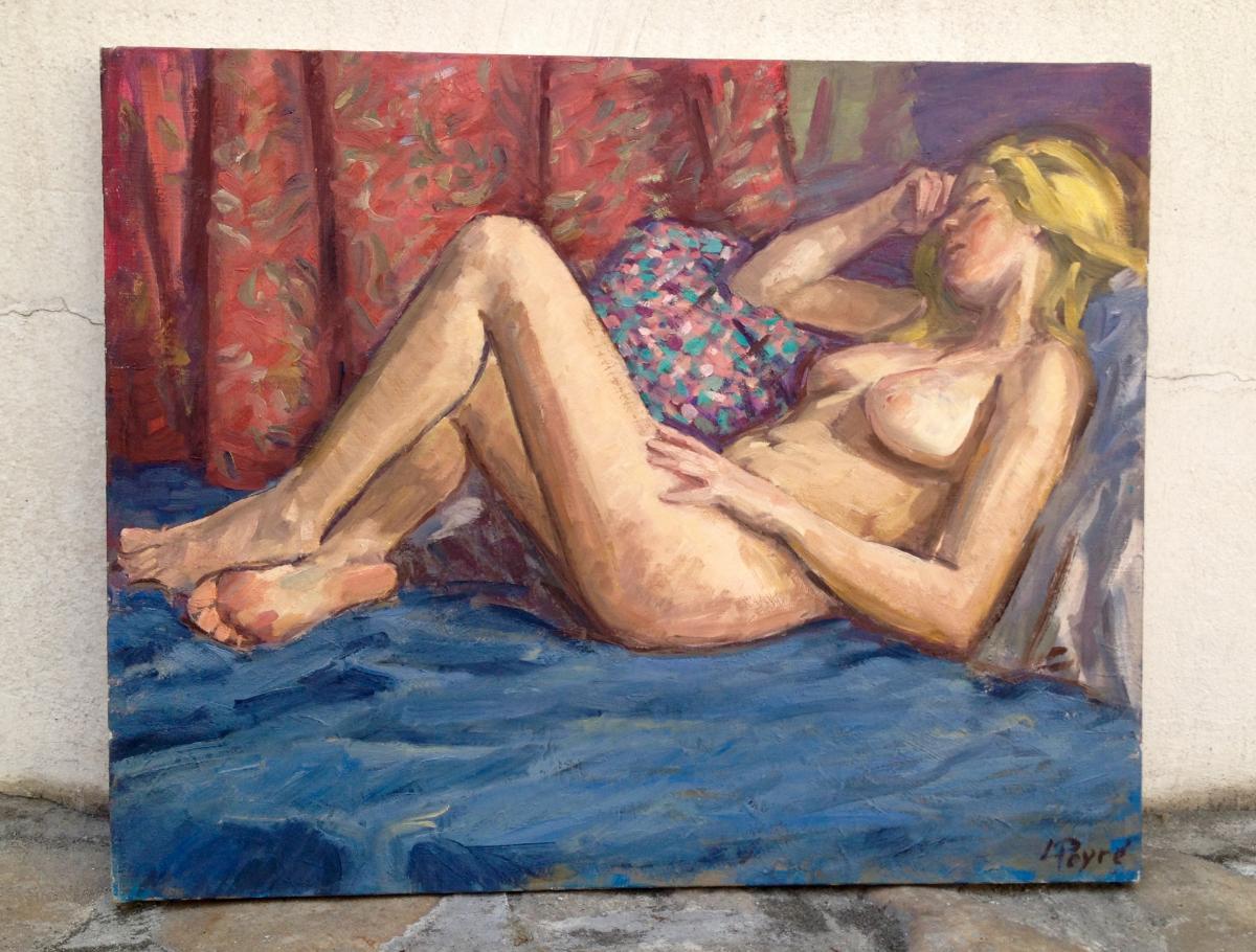 Painting: Louis Peyré (1923 - 2012) Oil On Canvas
