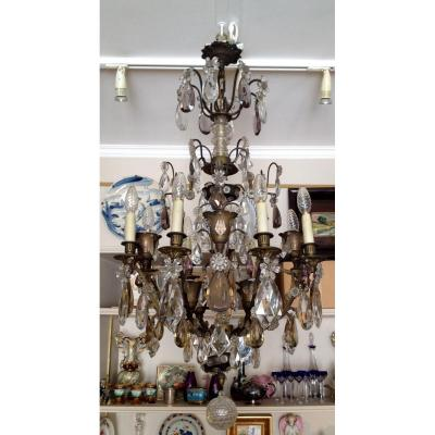 Louis XVI Crystal Chandelier 16 Lights