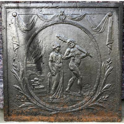Fireplace Plate 18th Century