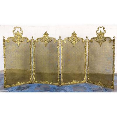 Firewall Louis XV, Bronze