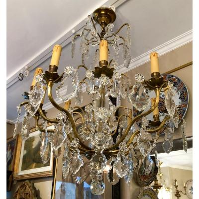 Louis XVI Crystal Chandelier