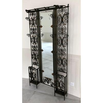Wrought Iron Locker Room