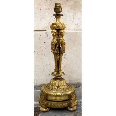 Flambeau Louis XVI, d'Après Pierre Gouthière