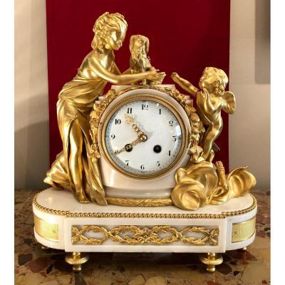Pendule Louis XVI