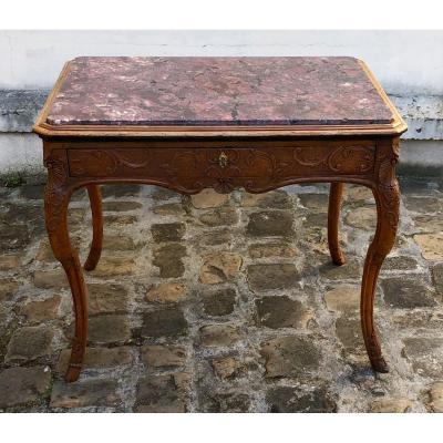 Table Régence En Noyer