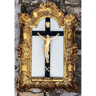 Crucifix d'époque Régence
