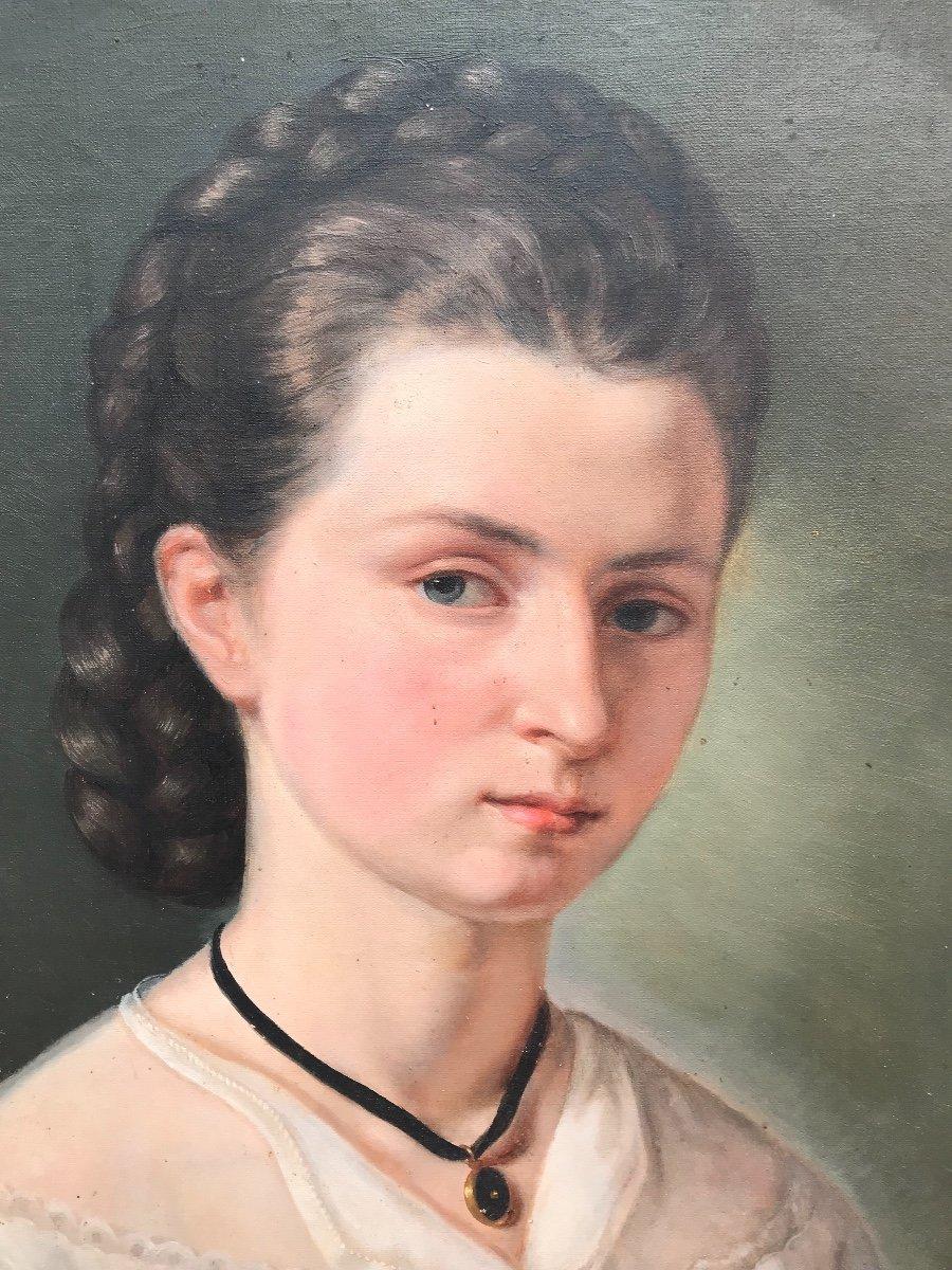 Portrait à La Jeune Fille -photo-2