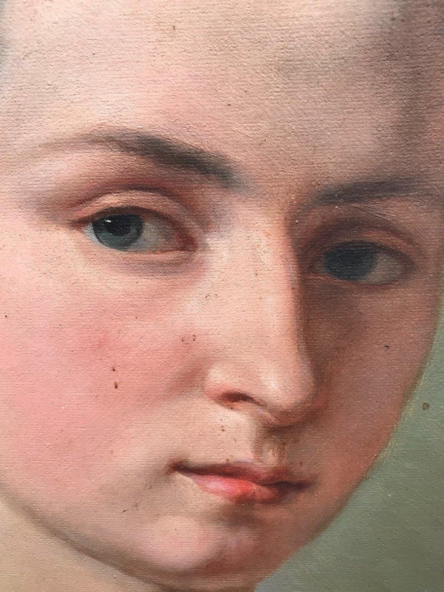 Portrait à La Jeune Fille -photo-3