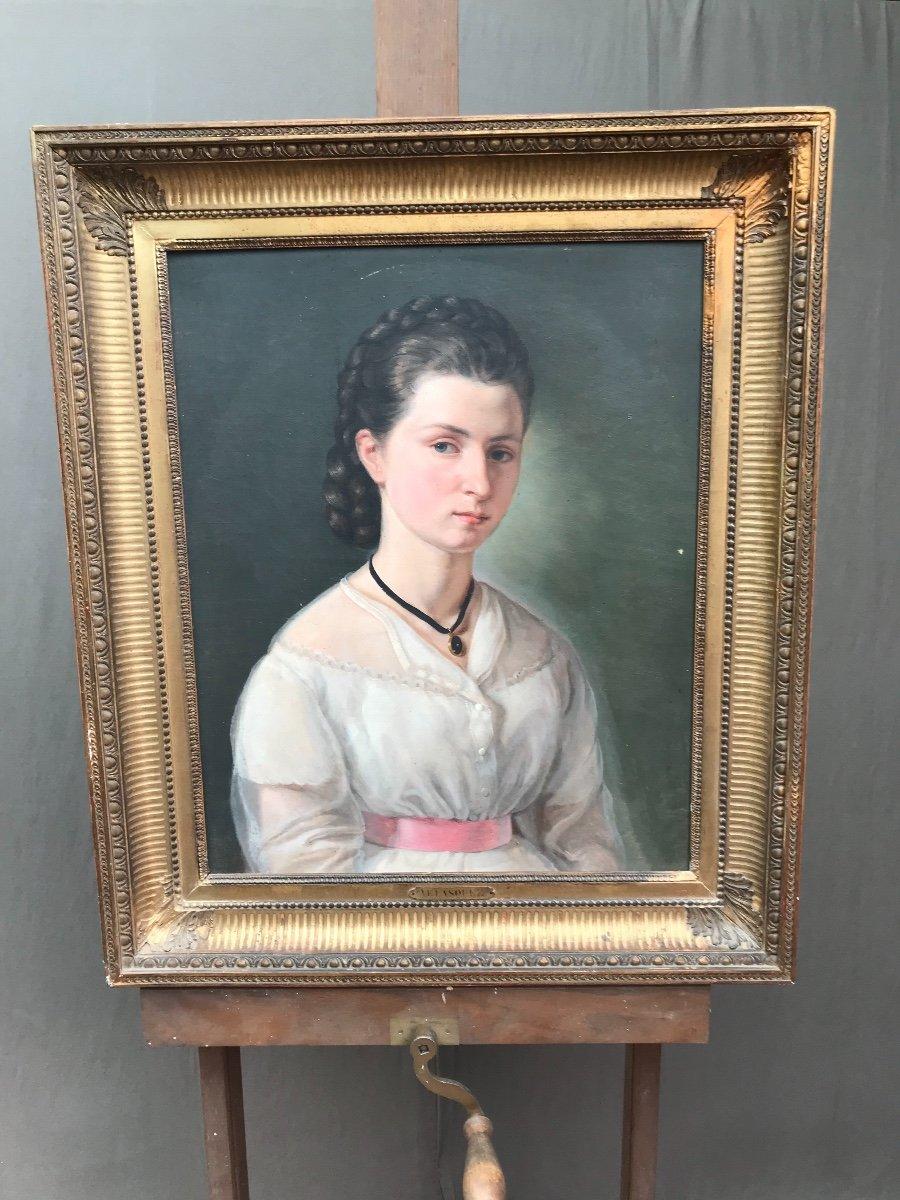 Portrait à La Jeune Fille