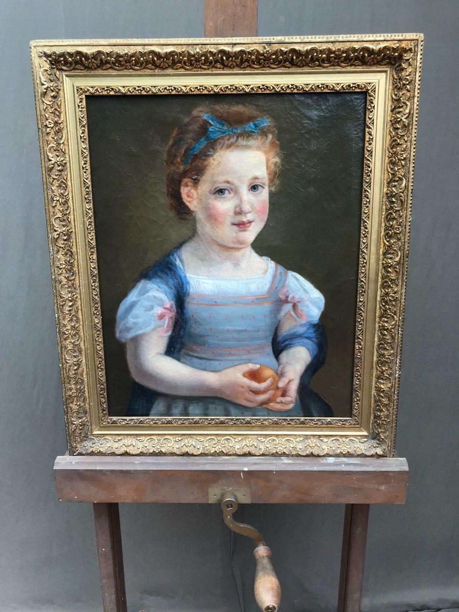 Portrait à L'enfant