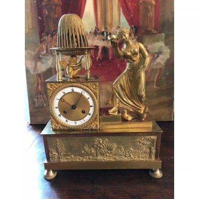 Gilded Bronze Pendulum