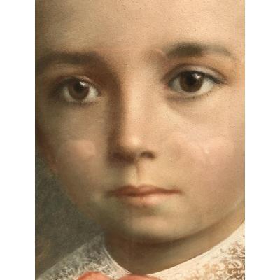 Portrait Pastel 19eme