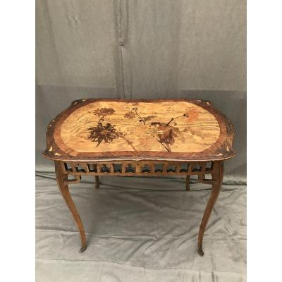 20th Marquetry Table
