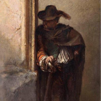 The Vagabond Spy     Duwez Henri-joseph (1810-1884)