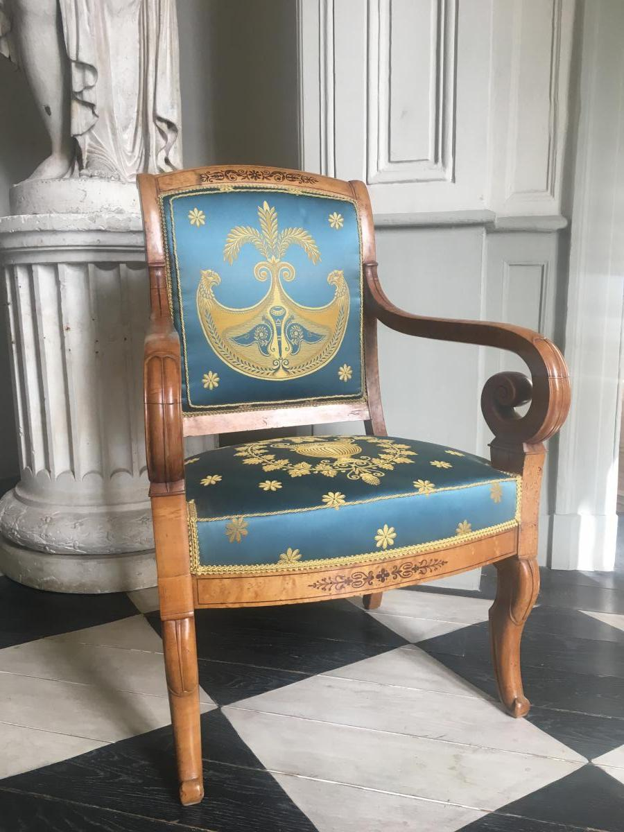 Fauteuil Charles X