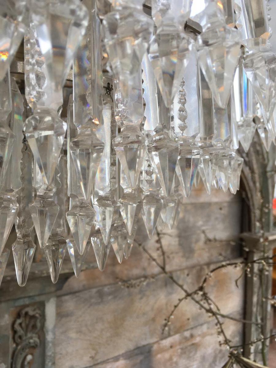 Crystal Chandelier 8 Lights