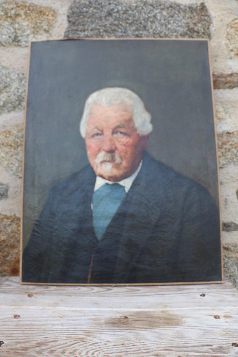 Paire de Portraits XIX Signés  Ch. Fornara