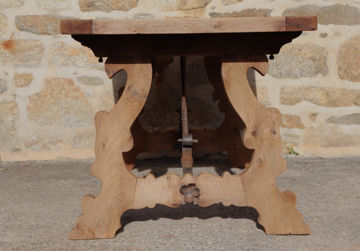 Catalan Wooden Table XIX Minorca