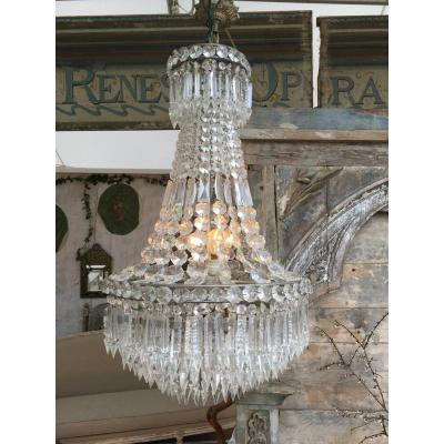 Crystal Chandelier 8 Lights