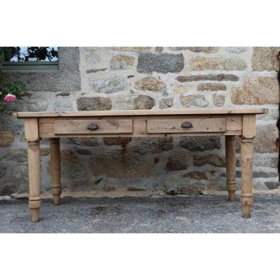 Table d'Office En Bois Massif