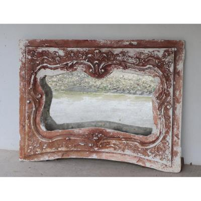 Large Plaster Mirror