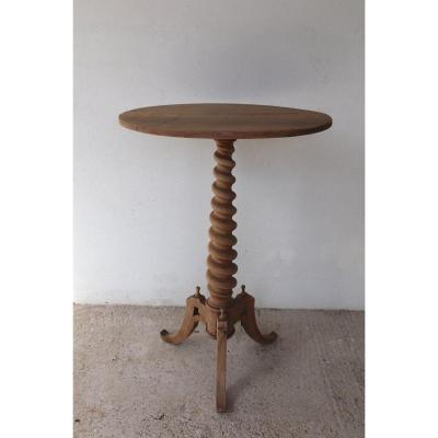 Pedestal Table XIX
