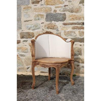Louis XV Style Office Chair Reupholstered
