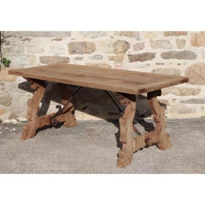 Catalan Wooden Table XIX Minorca